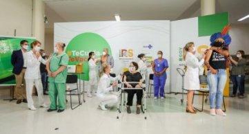 Vacinação para idosos começa em Porto Alegre nesta quarta-feira