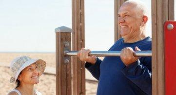 Falta de massa muscular é risco para a saúde de idosos